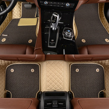купить Custom fit car floor mats for Toyota Land Cruiser 200 Prado 150 120 Rav4 Corolla Avalon Highlander Camry car styling liners по цене 8394.7 рублей