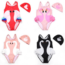 1~12y Kids Baby Girl Swimwear One Piece Printing Swimsuit Bathing Suit Bikini Clothes for Girl Summer Girls Bathing Suit цена