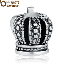 High Quality 925 Silver Royal Crown Charm Fit Pandora Bracelet Necklace Pendant Original Jewelry Accessories PA5285