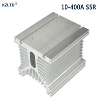 SSR Heat Sink For 200A 300A 400A High Power 3 Phase Industrial Solid State Relay SSR