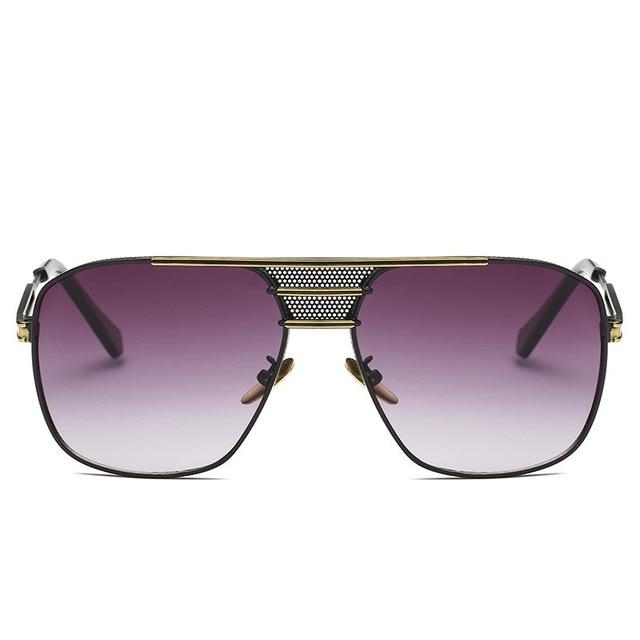 Steampunk Lunettes Hommes Carter Surdimensionné lunettes de Soleil rayons  chaude De Luxe Marque Femmes Lunette Soleil 63613ceb1fa