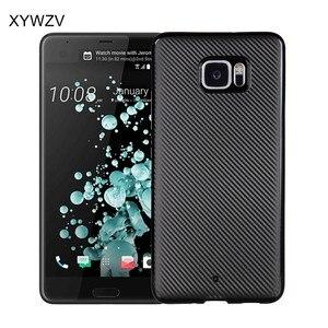Image 1 - sFor HTC U Ultra Case Soft TPU Armor Shockproof Silicone Phone Case For HTC U Ultra Cover For HTC Ocean Note / U Ultra Fundas