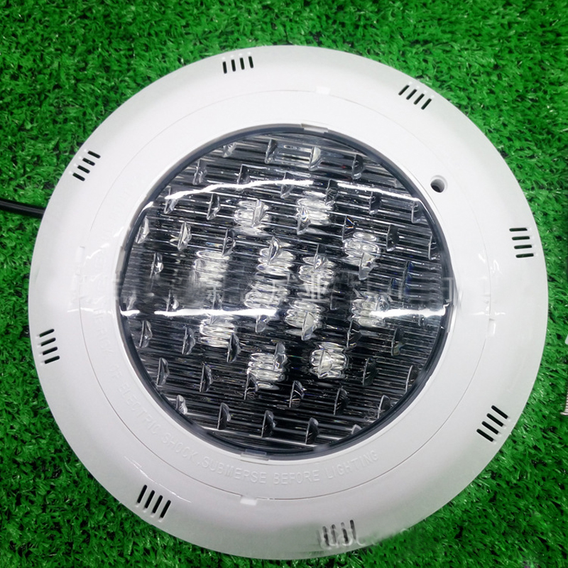 цена 4pcs/lot 12*1w Swimming Pool Light IP68 Ac12V Outdoor RGB Underwater Lamp For Ponds Lighting Pond Led Submersible Marine Light