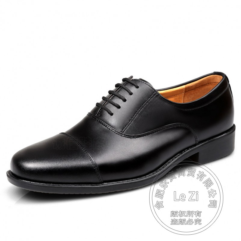 ФОТО Full Grain Leather Mens Oxfords  Solid Classics Plain Soldier 2016  Soft Leather Models Officer Men Formal Shoes Leather