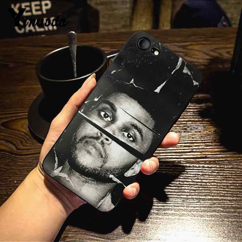 Yinuoda The Weeknd INDAH UNTUK iPhone X 8 7 6 6S Plus X 5 5S SE xr XS XSMAX11 11pro 11 Promax