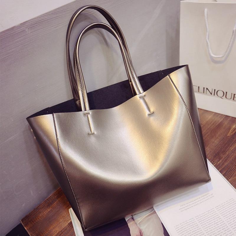 Fashion Women Trend Tote New Fashion Dual use Shoulder bag handbag High quality Female Crossbody Composite Bag Large capacity