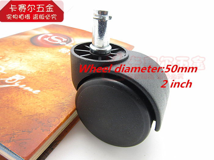 heavy duty pressure office computer chair casters replacement swivel casters nylon rolling rollers wheelschina - Chair Casters