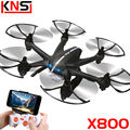100% Original MJX X800 2.4G 6-axis aircraft G-sensor Helicopter 6CH RC drones Can Add C4005 WIFI FPV HD Camera VS H11D H12C H11C