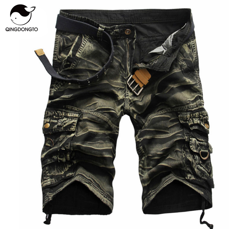 Shorts Man 2017 Brand Fashion Mens Bermuda Short Men Homme Cargo Shorts