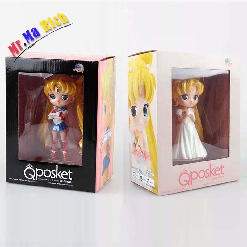 15 Cm 2 Stili Selezionabili Q Posket Sailor Moon Principessa Serenity Tsukino Usagi Pvc Action Figure Giocattoli Da Collezione