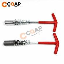 Ferramentas para reparo de veículos, chave de ignição 14mm/16mm, removedor t, ferramenta manual para instalação universal para vários ângulos