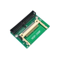 """Cf cartão para 3.5 """"ide adaptador masculino disco de memória flash compacto para 40 pinos 3.5 Polegada desktop pata hdd conversor"""