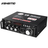 Vehemo Remote Control BT 298A Power Amplifier Bluetooth Auto Power Amplifier Car Power Amplifier Portable High Performance