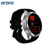 Купить Ordro X200 Смарт-часы Android 5.1 Системы Bluetooth 4.0 GPS Сердечного ритма 2mp Камера