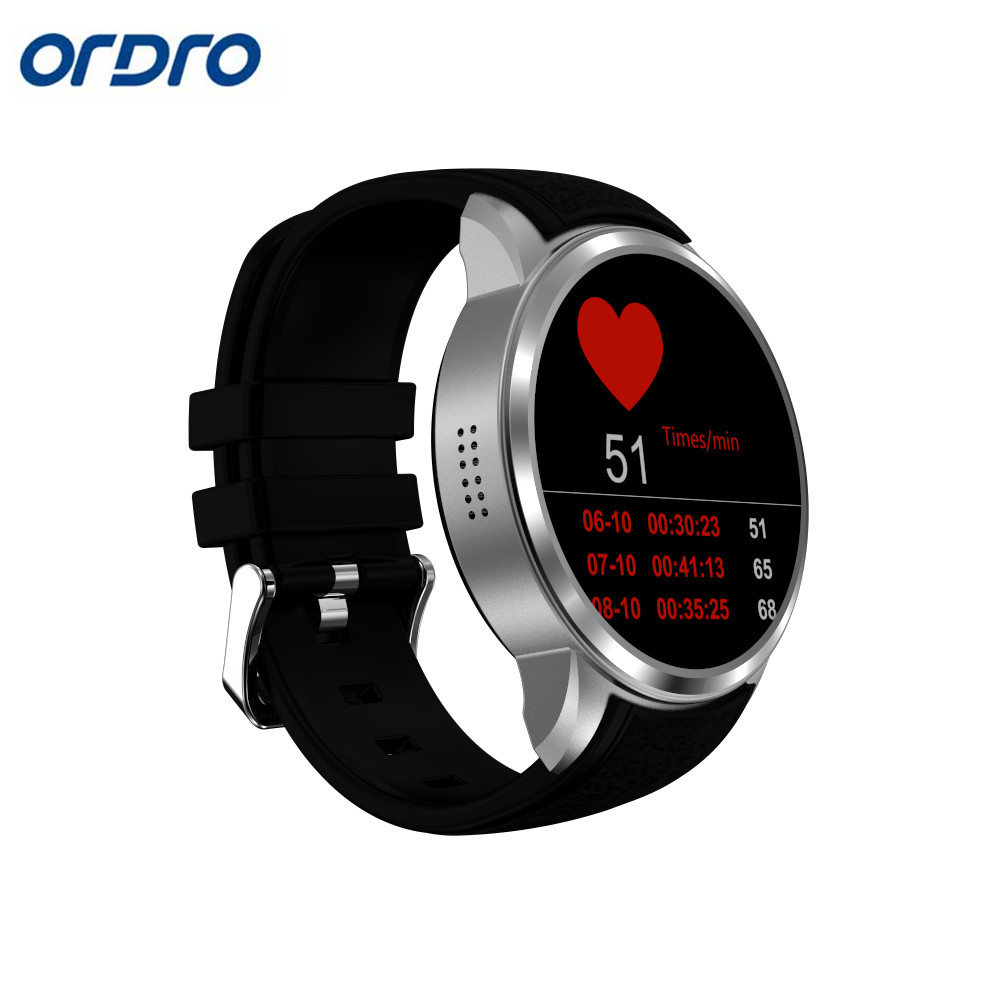 Ordro X200 Smart watch Android 5.1 System Bluetooth 4.0 Heart Rate Gps 2mp Camera