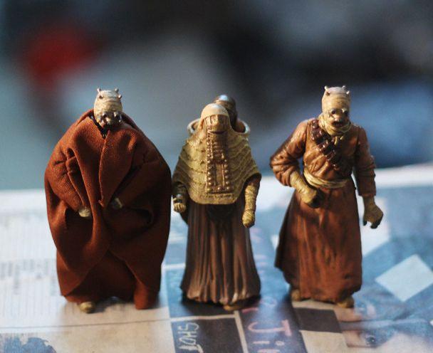 Figurine sable personnes figurines extraterrestres moule 3 pièces/ensemble