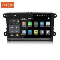 Универсальный 2 Din Android 7,1 Bluetooth Wifi Автомобильный мультимедийный плеер 9 дюймов 1080 P сенсорный экран gps навигация автомобильное радио для VW