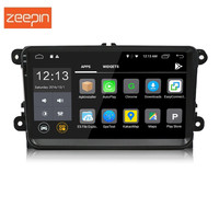 Universal 2 Din Android 7.1 Bluetooth Wifi Car Multimedia Player 9 inch 1080P Touch Screen GPS Navigation Car Radio for VW
