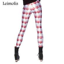 2016 new Spring Tenths adventure time punk rock hara u black milk push up fitness sexy 3d print soup tin women leggings sports