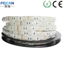 5M/Roll 60LED/m RGB LED Strip SMD5050 DC12V Waterproof/Non-waterproof optional Flexible Led Strip Home Decoration Free shipping