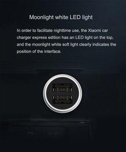 Image 5 - Xiaomi carregador para carro, carregador de carro duplo 18w usb 3.0 5v/2.4a 9v/2a 12v/1.5a cabo mágico edição rápida 3.0 + 2a