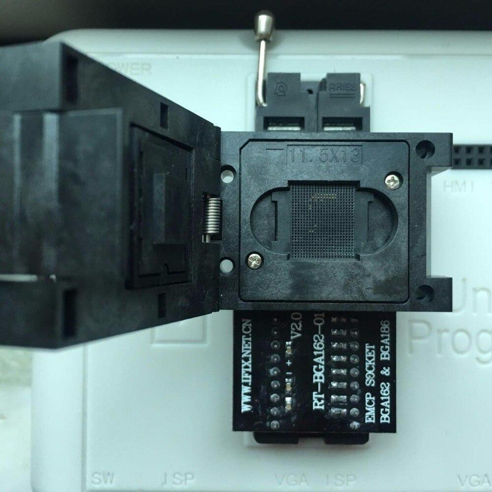 EMCP162 EMCP186 prise adaptateur 11.5X13 Pour RT809H Programmeur