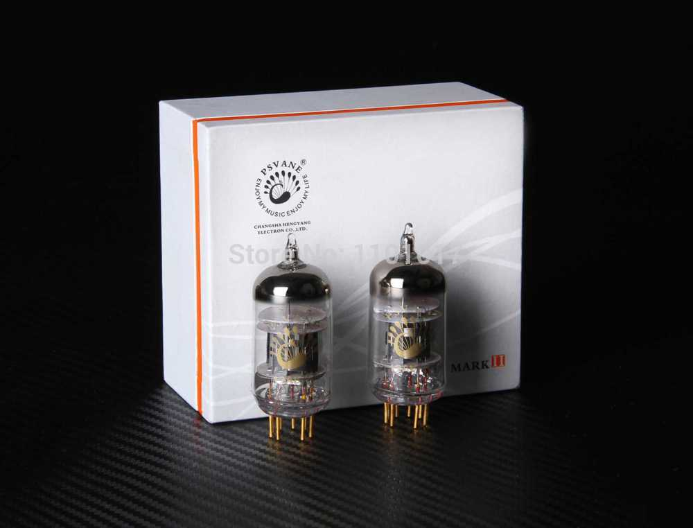 PSVANE 12AU7-TII Vakum Tube Mark TII Series Collection Edition HIFI EXQUIS 12AU7 ECC82 Electron Lamp