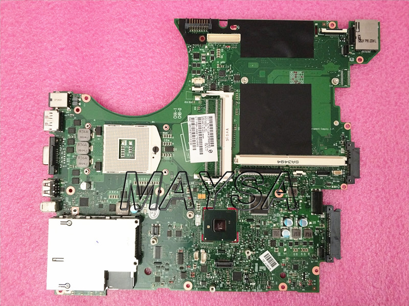 KEFU 595698-001 Main Board For Hp Elitebook 8740w 8740P Laptop Motherboard QM57 DDR3 with graphics slot free shipping 690643 001 motherboard for hp elitebook 8570w system board main board hd4000 j8a with graphics slot 100