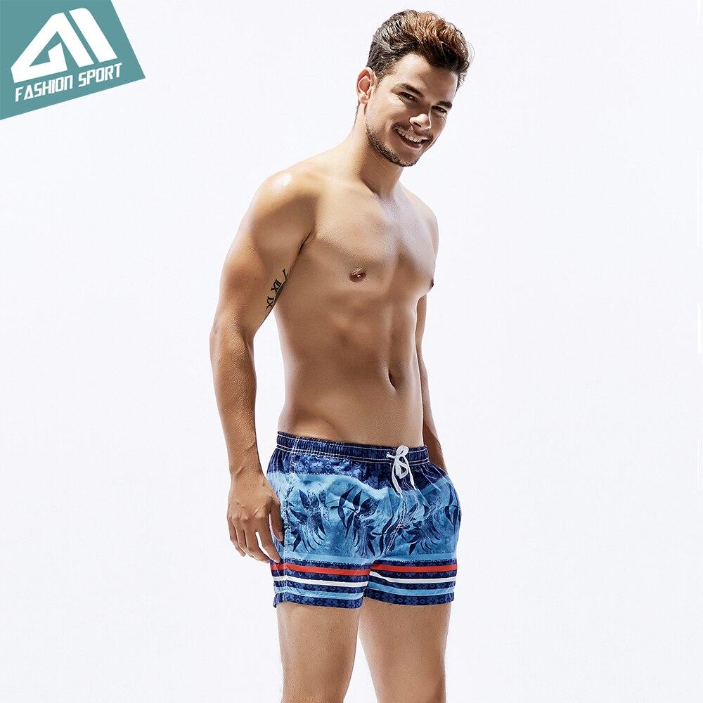 Seobean Summer Pattern vīriešu galdiņa šorti ar stipru vidukļa - Sporta apģērbs un aksesuāri - Foto 3