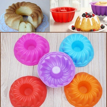 2 Pcs  Cake Bread Silicone Bakeware Creative Cooking Mold