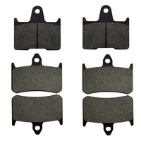 Motorcycle Parts Front Rear Brake Pads Kit For HONDA CB1300 X4 DCV DCW DCX DCY SC38
