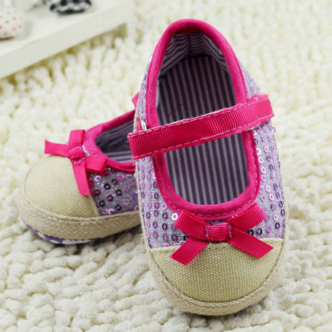 infant toddler shoes baby girls shoes bebe shoes first walkers crib  shoes kids shoes breathable Sequin Islamabad