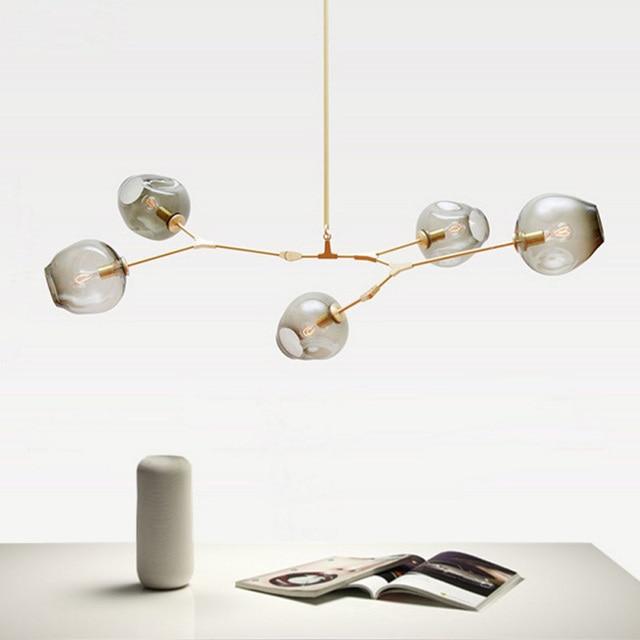 Modern Glass Pendant Light Nordic Dining Room Kitchen