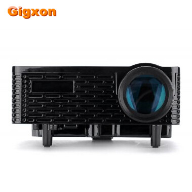 Gigxon - G810 mini projector for Kids full HD 3D HDMI USB VGA mini pocket projector LED projector proyector beamer support all 3d 1500ansi hd android bluetooth dlna miracast dlp 2d to 3d hdmi vga usb sd handy pocket led mini projector beamer