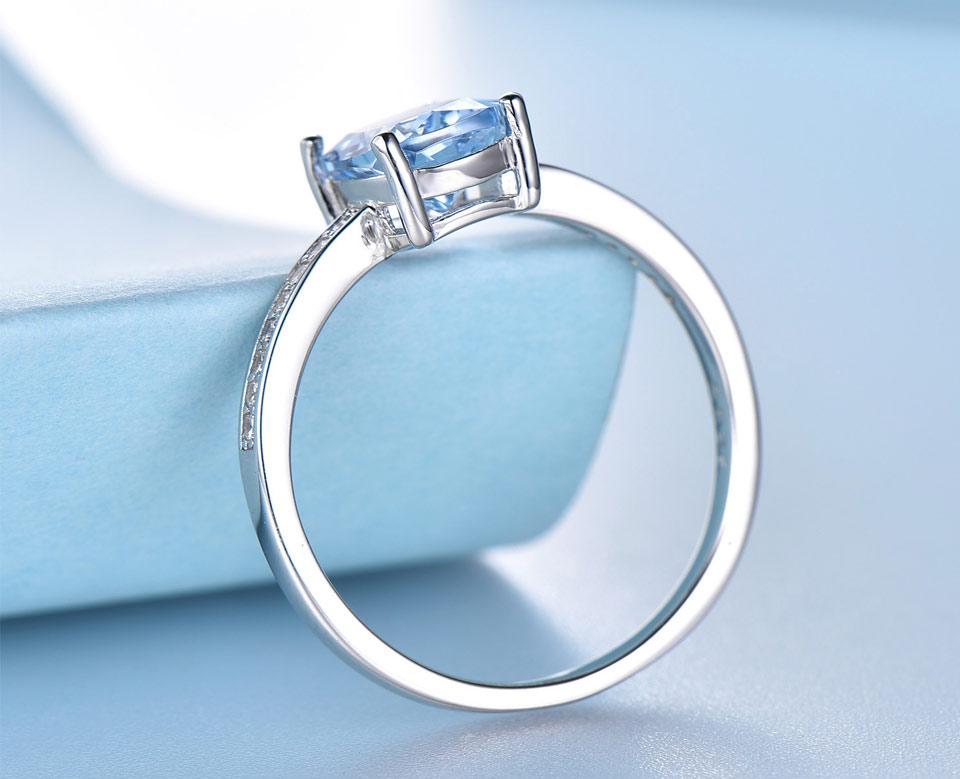 Honyy Sky blue topaz silver sterling jewelry sets for women EUJ054B-1-pc (10)
