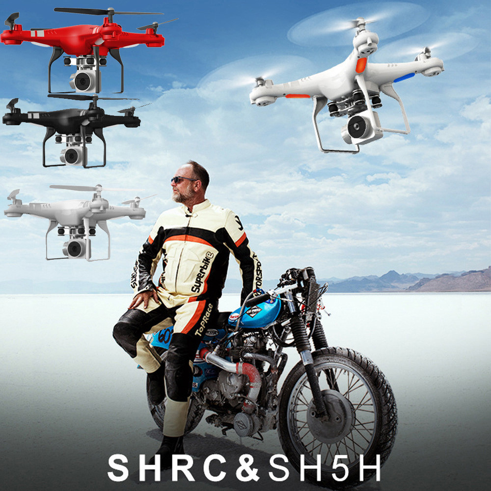 Hiinst SH5H 4CH FPV Drone with camera HD 360 degree 170 Wide Angle Lens Quadcopter RC WiFi FPV Airplane Hover Live Video Photo 360 degree 170 wide angle lens sh5hd drones with camera hd quadcopter rc drone wifi fpv helicopter hover flip live video photo