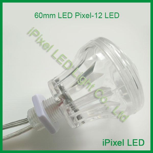 60mm 12SMD 5050 rgb pixel LED for Amusement Ride Ferris Wheel Fairground led