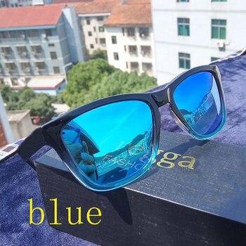 679b2f7398 2019 gafas de sol con gradiente de lentes de color de alta calidad, gafas  de sol polarizadas para hombre, gafas de sol de viaje para mujer, UV 400  hawker