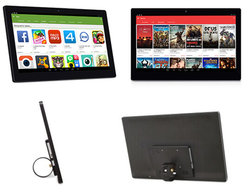 27 inch Android touch advertising player (nurse station, Sterling Ranch demo screen, POS system, KIOSK, Airport, hospital)