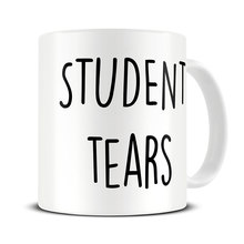 Student Tears teacher mugs beer cup coffee mug ceramic tea cups home decor novelty friend gift birthday gifts(China)