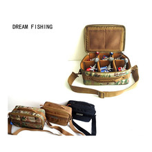 2017 Fishing Bag Waterproof 33*23*13cm Canvas Waist  Backpack Sac Peche Fishing Tackle Case Bolsa De Pesca Acesorios
