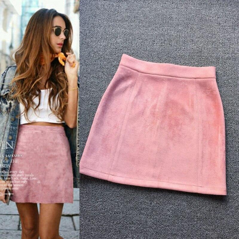 Tan Mini Skirt Promotion-Shop for Promotional Tan Mini Skirt on ...