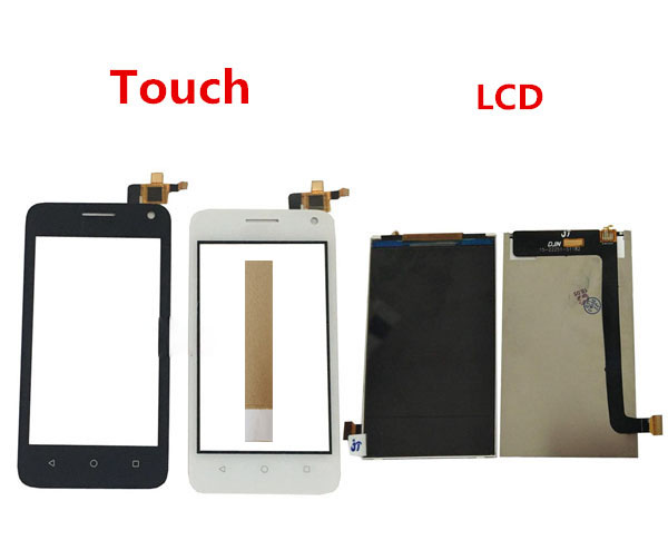 4.0 Inch For Huawei Ascend Y360 Y336 Y3C LCD Display With Touch Screen Digitizer Sensor Black White Color With Tape4.0 Inch For Huawei Ascend Y360 Y336 Y3C LCD Display With Touch Screen Digitizer Sensor Black White Color With Tape