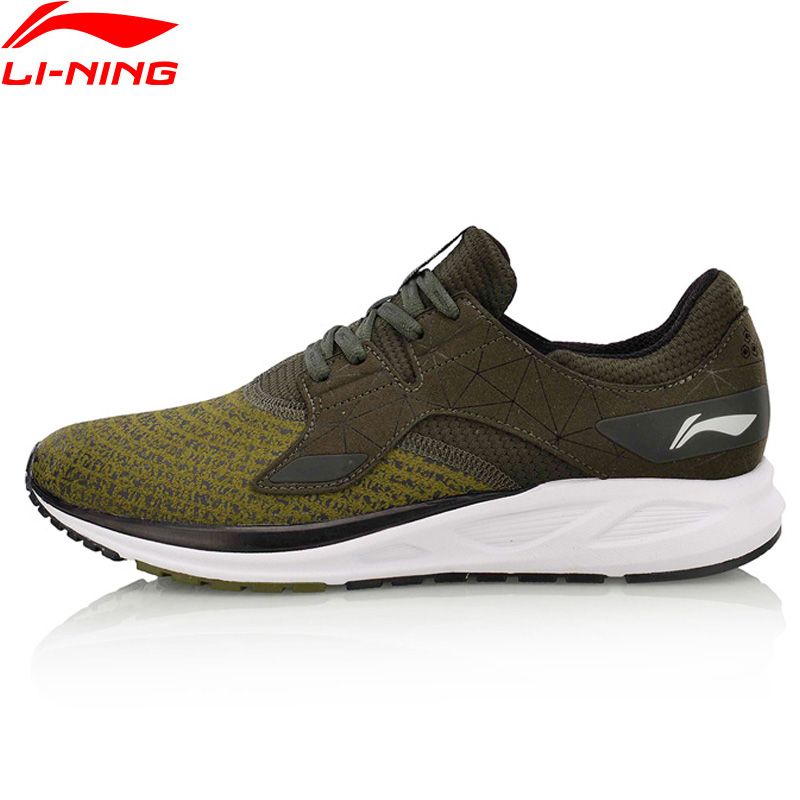 Li Ning Men FLASH Light Weight Running Shoes Breathable LiNing Sport Shoes Wearable Anti Slippery Sneakers