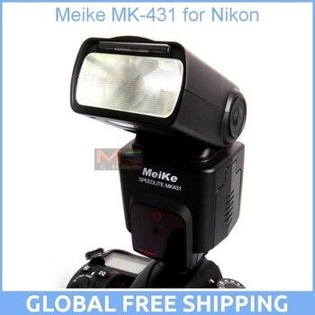 Meike MK-431 TTL LCD Flash Flashgun Speedlite for Nikon D7000 D5100 D3100 D800 D7100 D5000 D5200 D3000 D3200 D90 D960 D80 D300s