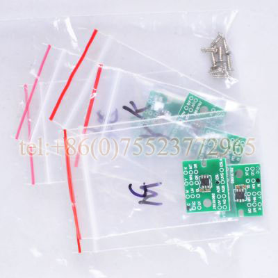 Permanent Roland XJ-640 / XJ-740 ECO Solvent Chips - 6pcs / set CMYKLCLM printer parts head board for roland xj xc540 640 740 printer