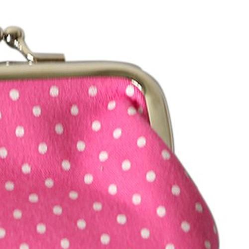 TEXU 5 X Popular Cute girls Wallet Clutch Change Purse key/coins bag Mini Handbag Pouch Rose red