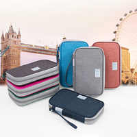 2018 NEW Fashion Portable Travel Accessories Waterproof Oxford Multifunction Passport Wallets Card Holders Money Purse Cheap