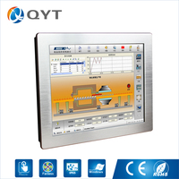 Fanless And Noiseless 17 Industrial Pc Embedded Panel Pc Tablet Pc With Intel J1900 Cpu QY