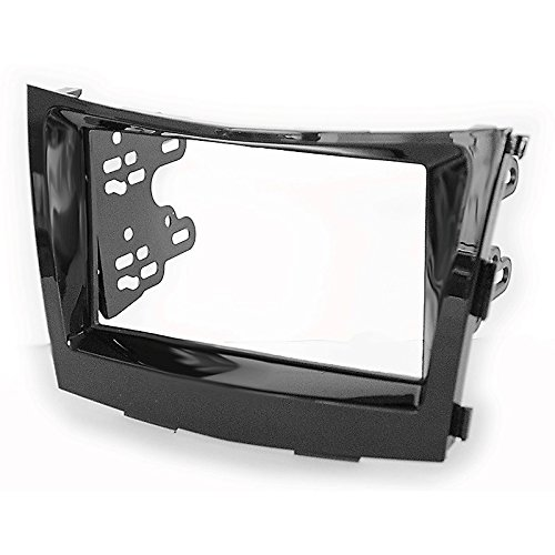 2 Din Car Radio Stereo Fascia Panel Frame DVD Dash Installation Kit for Ssang Yong Tivoli 2015+ with 178*102mm 173*98mm 2 din car dvd frame dashboard kits front bezel radio frame adaper dvd cover dash trim kit for kia rio 5 door rhd double din